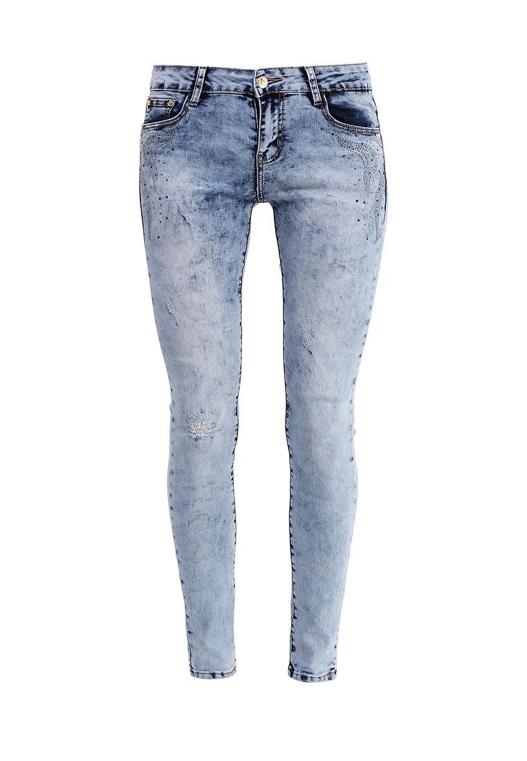Зауженные джинсы G&G B014-F007