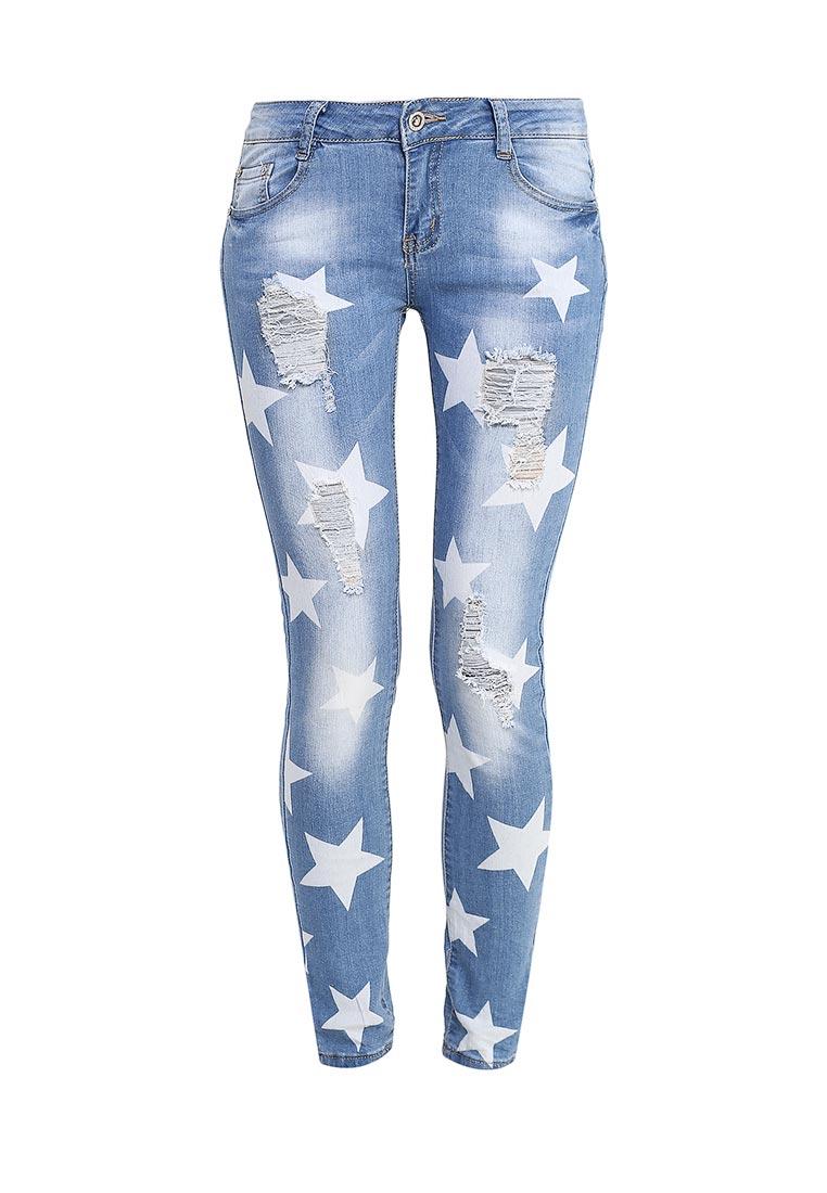 Зауженные джинсы G&G B014-K407
