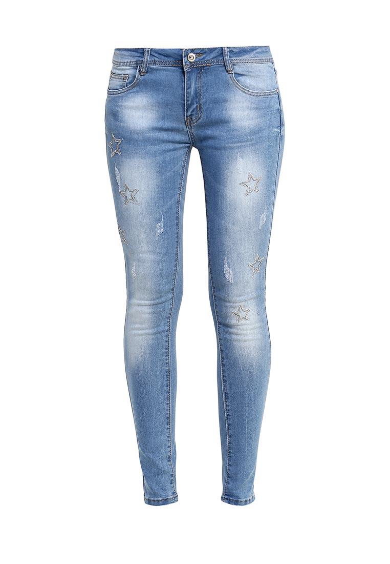 Зауженные джинсы G&G B014-K412