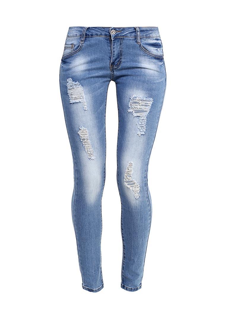 Зауженные джинсы G&G B014-K413
