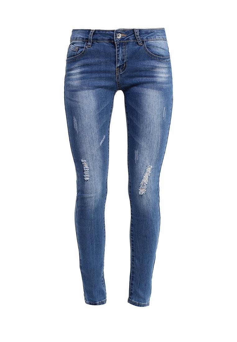 Зауженные джинсы G&G B014-K415
