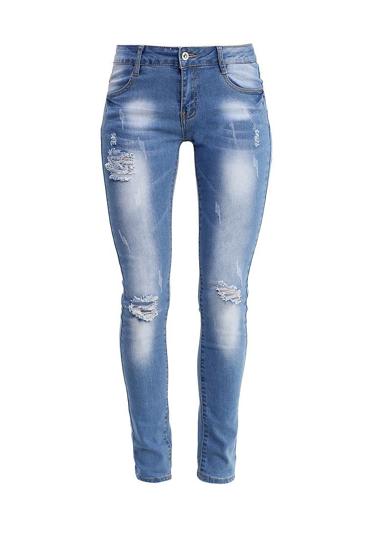 Зауженные джинсы G&G B014-K432