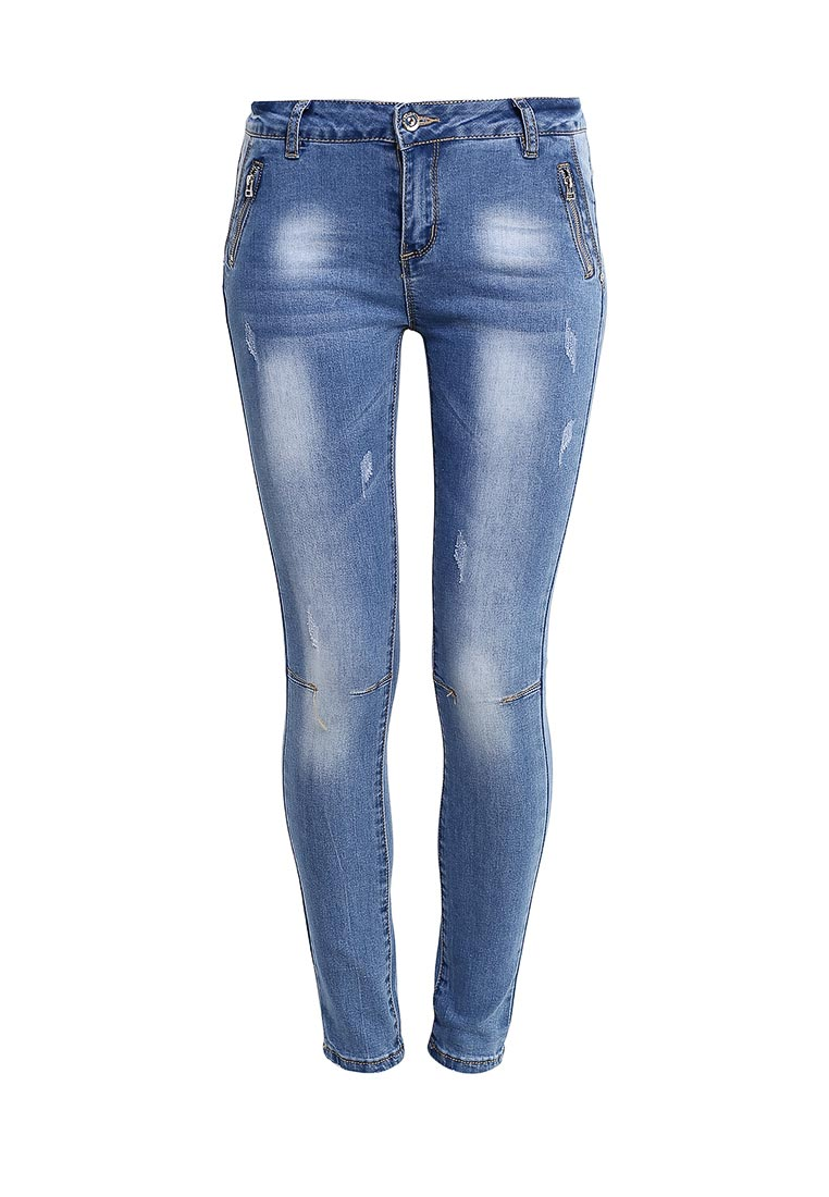 Зауженные джинсы G&G B014-K434