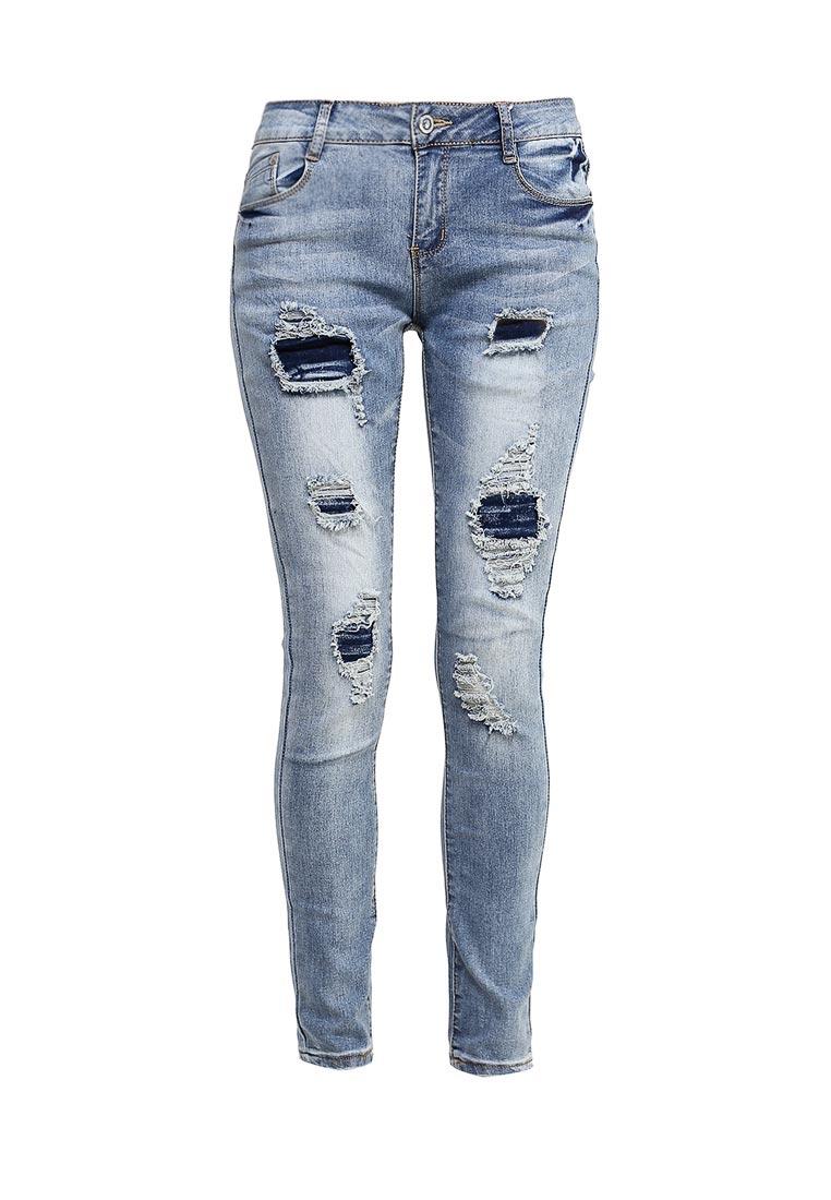 Зауженные джинсы G&G B014-K435