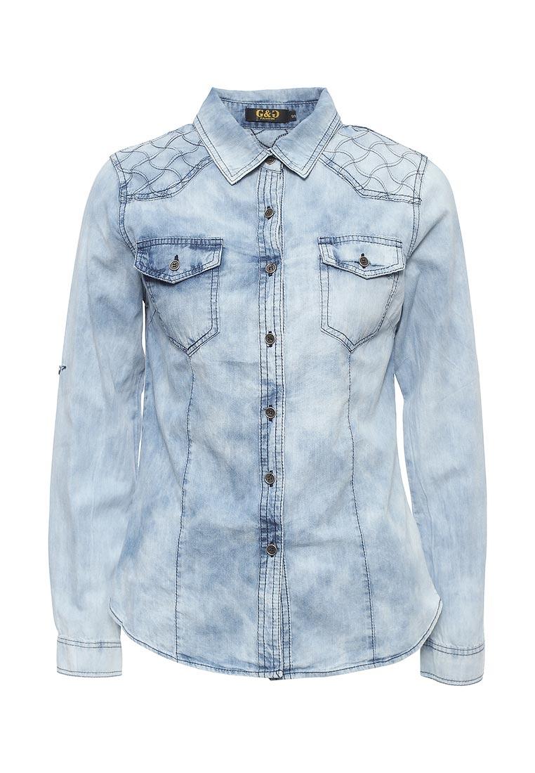 Женские джинсовые рубашки G&G B014-M017