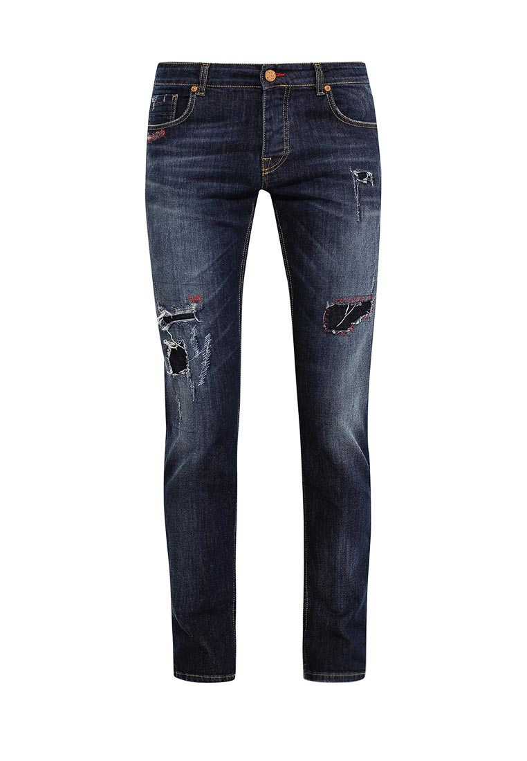 Зауженные джинсы Gianni Lupo P21-FIVE0035