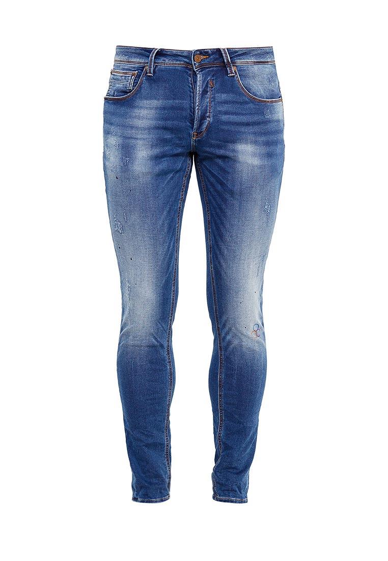 Зауженные джинсы Gianni Lupo D001-S862GL
