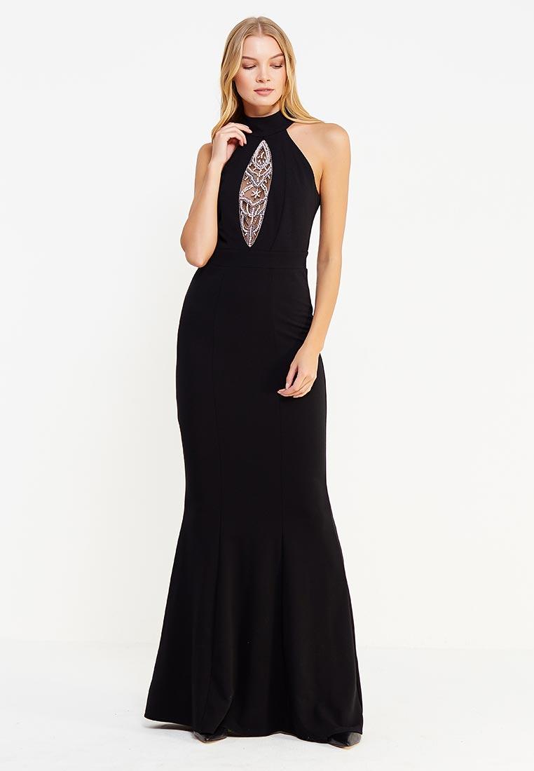 Платье-макси Goddiva DR488