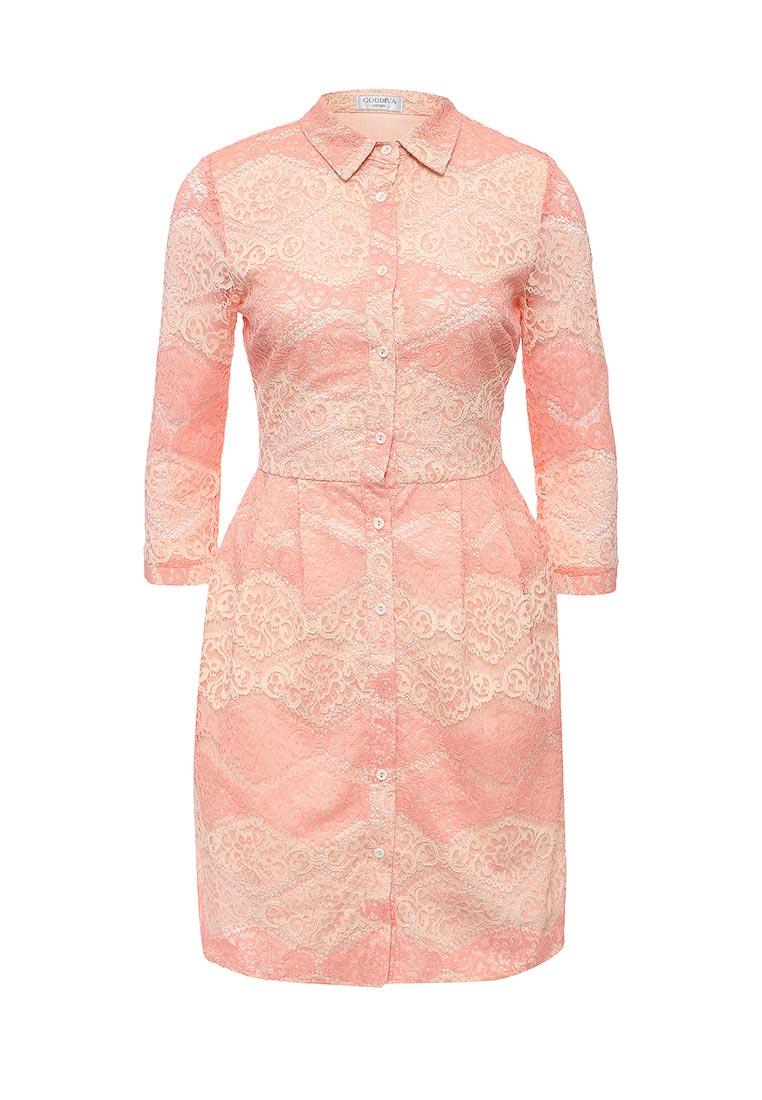Платье-миди Goddiva DR725