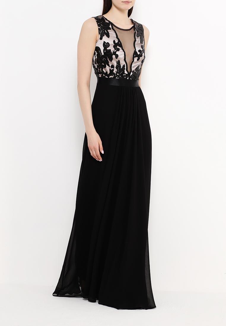 Платье-макси Goddiva DR589