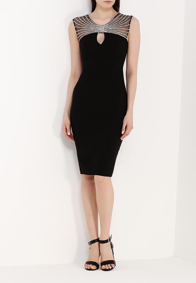 Платье-миди Goddiva DR903A