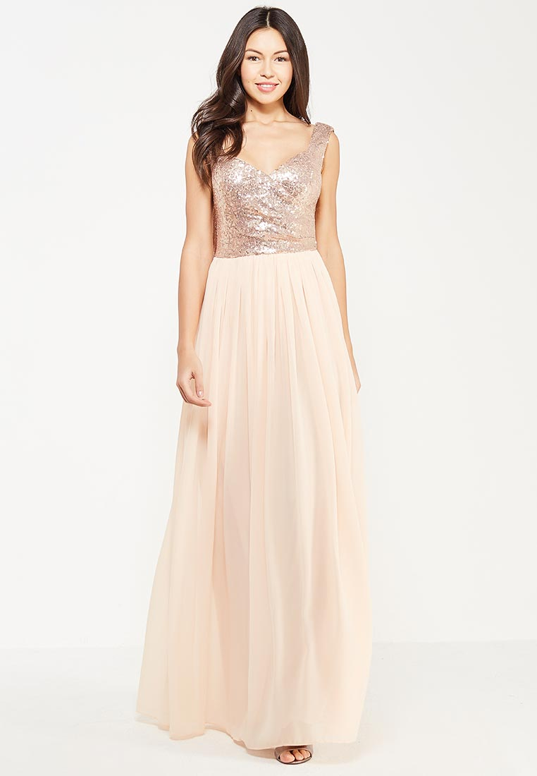 Платье-макси Goddiva DR1278