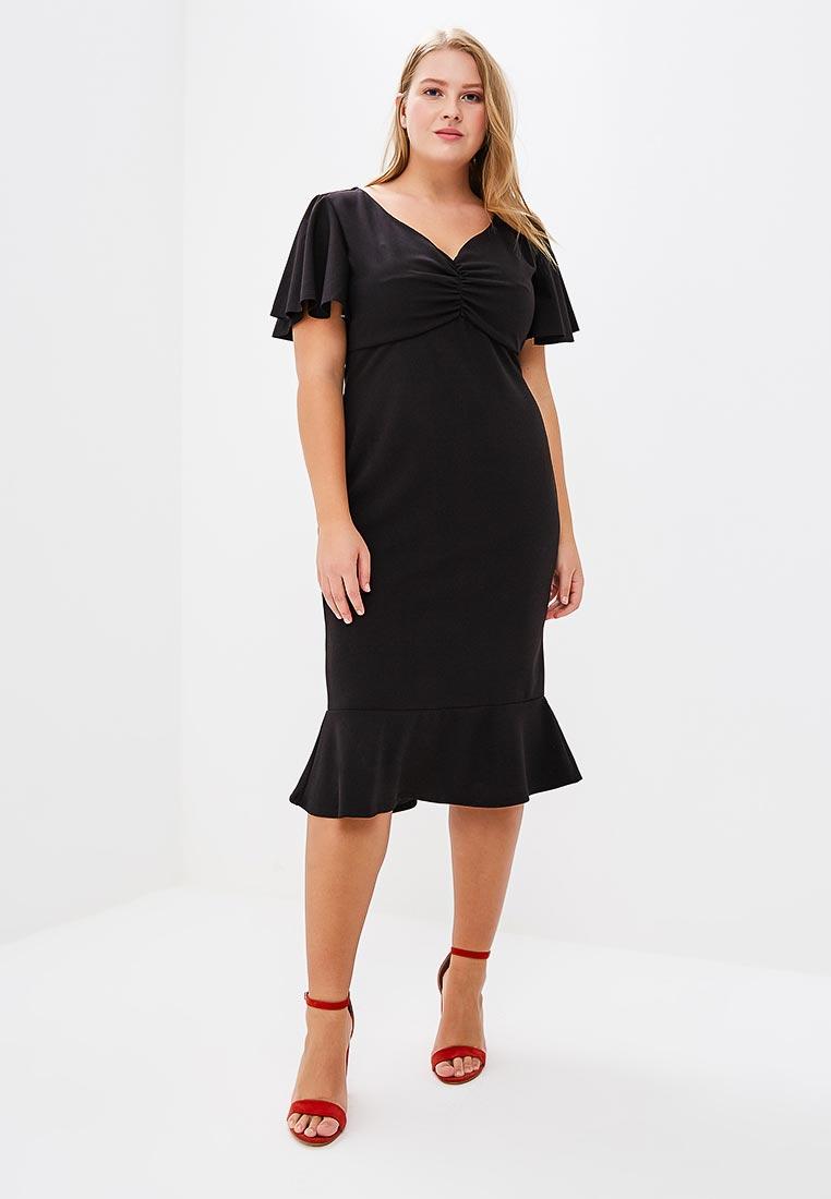 Вязаное платье Goddiva Size Plus DR1693P