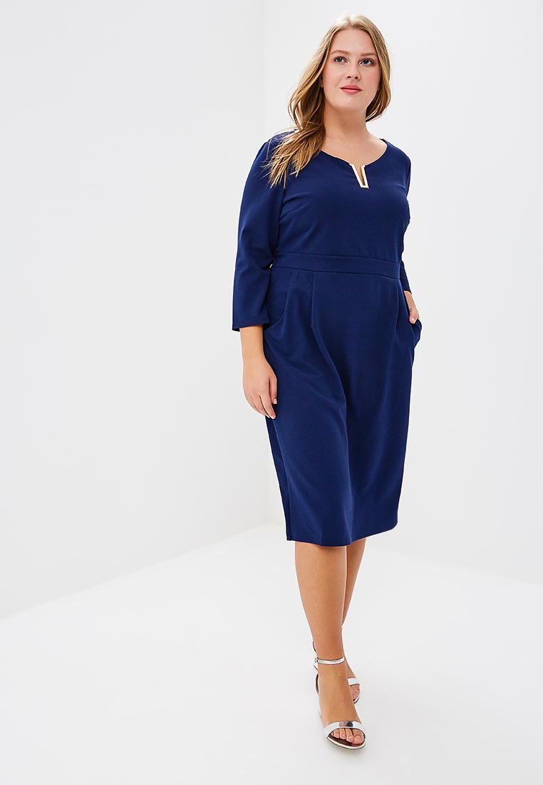 Летнее платье Goddiva Size Plus DR1344P