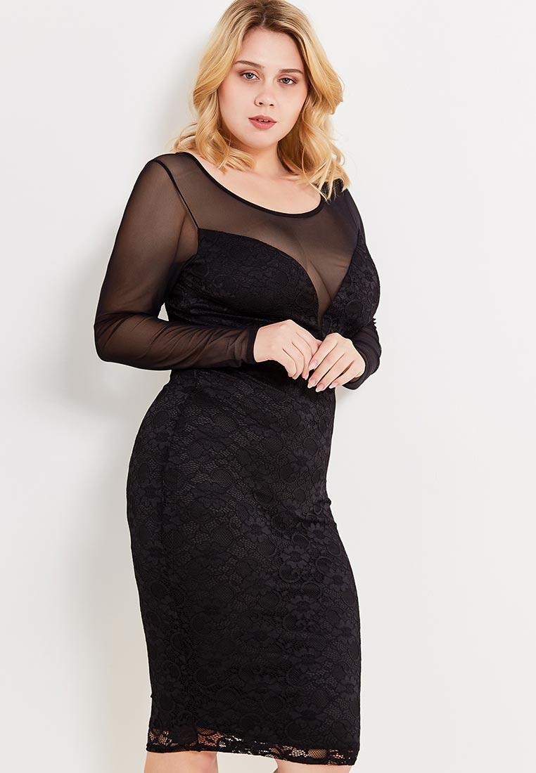 Вечернее / коктейльное платье Goddiva Size Plus dr1008p
