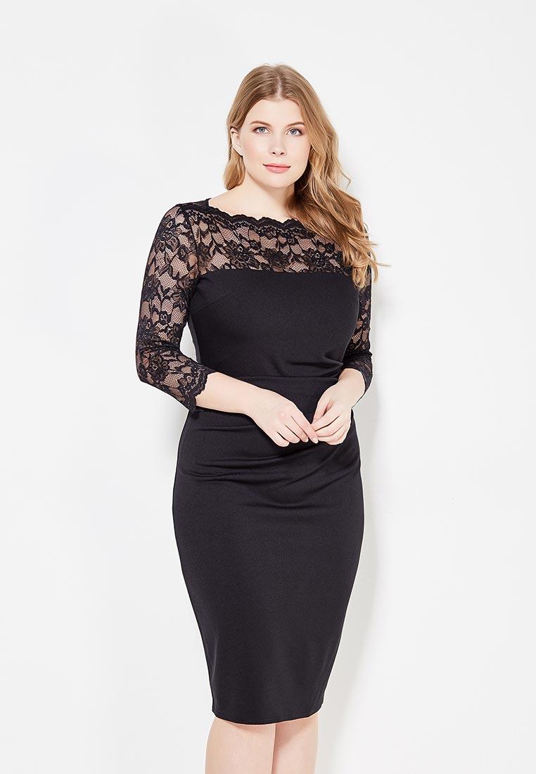Платье Goddiva Size Plus DR978P