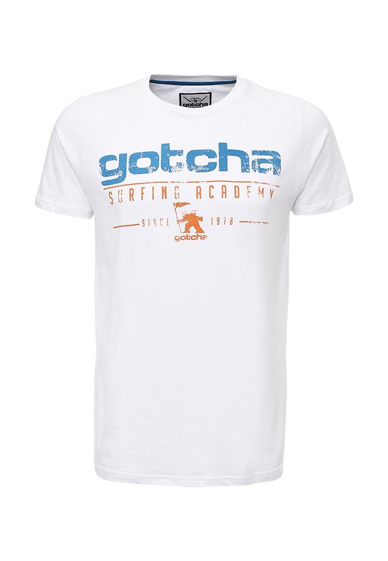 Футболка с надписями Gotcha 32207