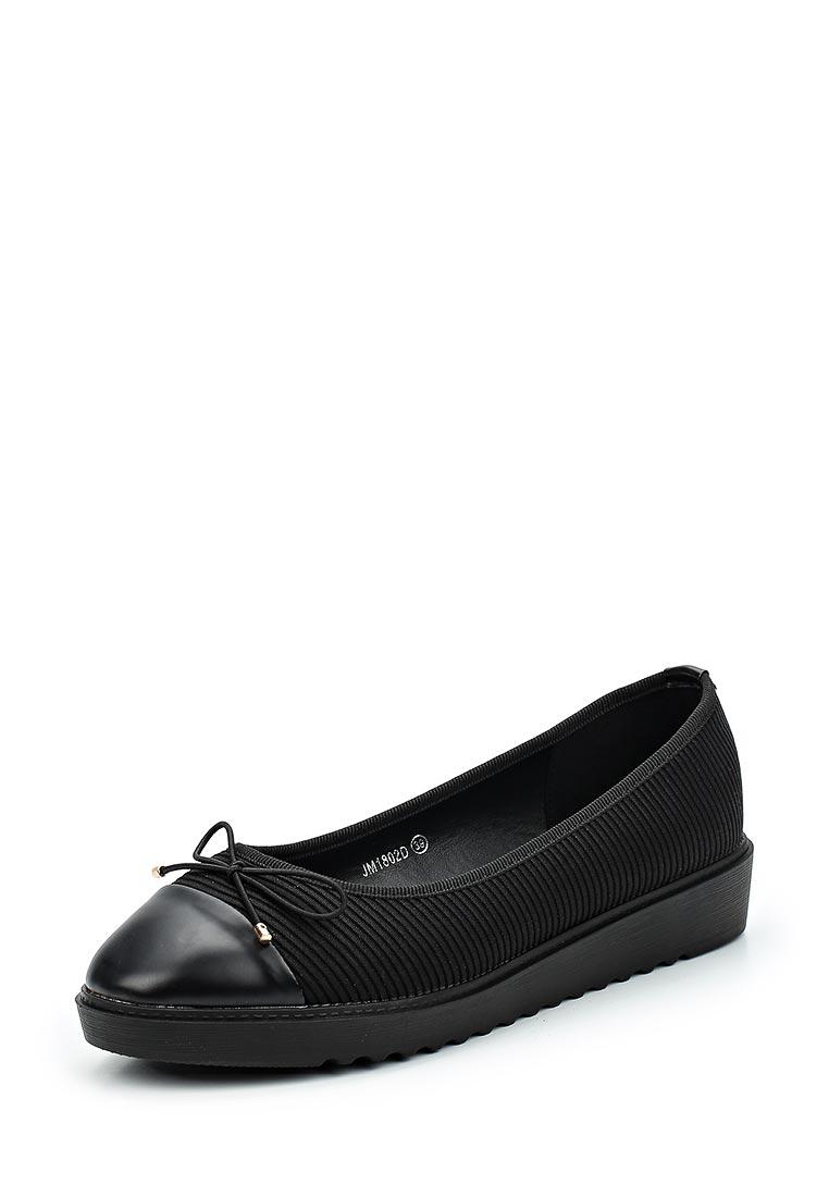 Туфли на плоской подошве Guapissima JM1802D