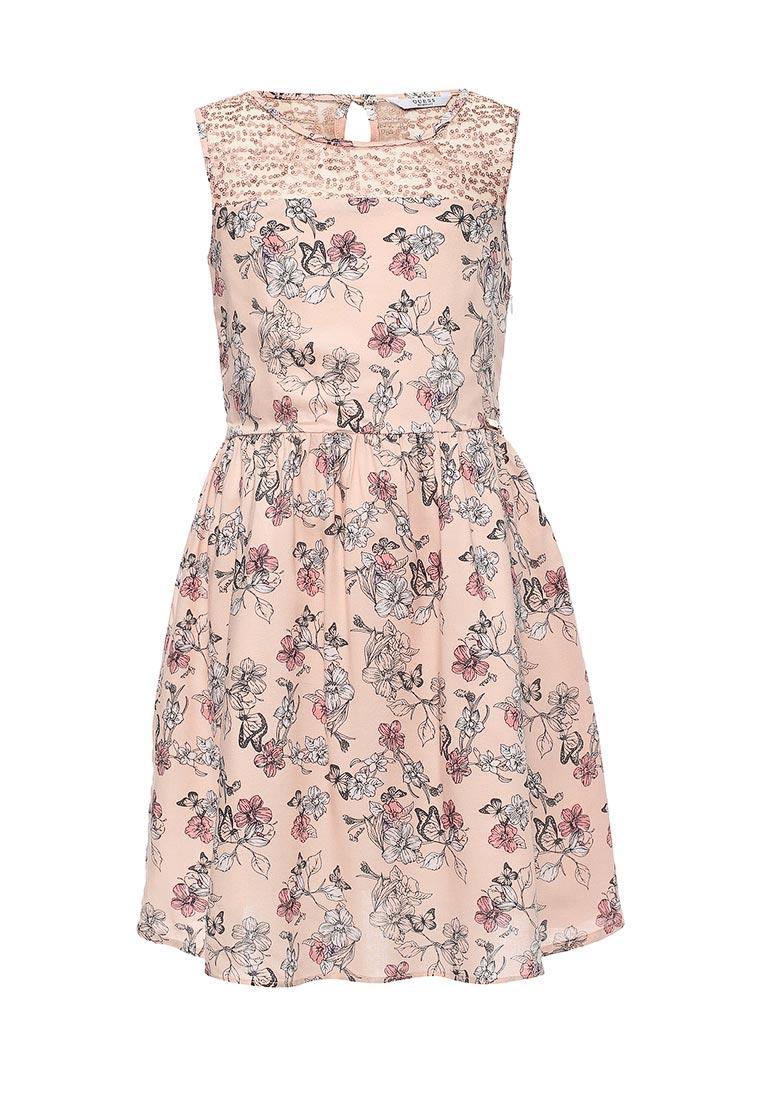 Повседневное платье Guess (Гесс) J73K06 W8MT0