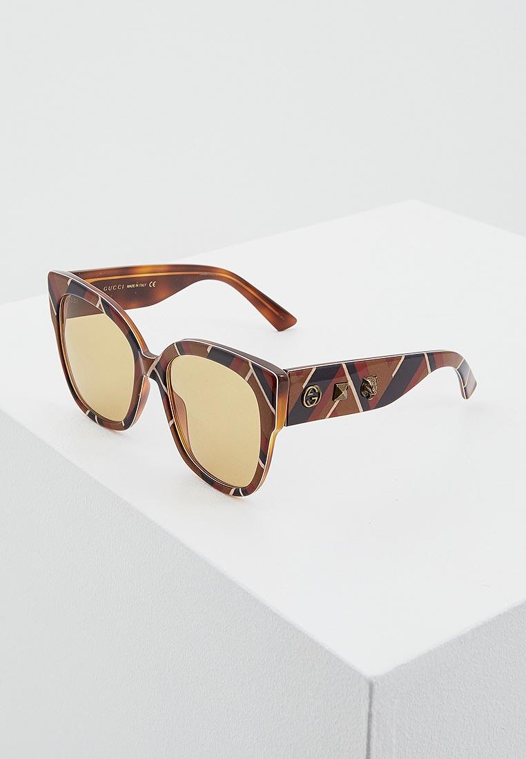 Женские солнцезащитные очки Gucci (Гуччи) GG0059S