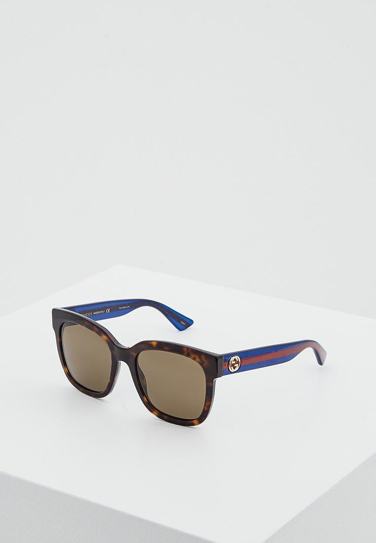 Женские солнцезащитные очки Gucci (Гуччи) GG0034S