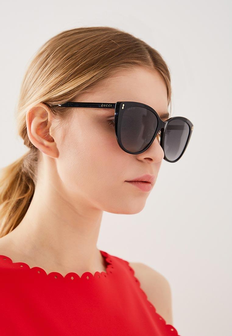 Женские солнцезащитные очки Gucci (Гуччи) GG0193SK