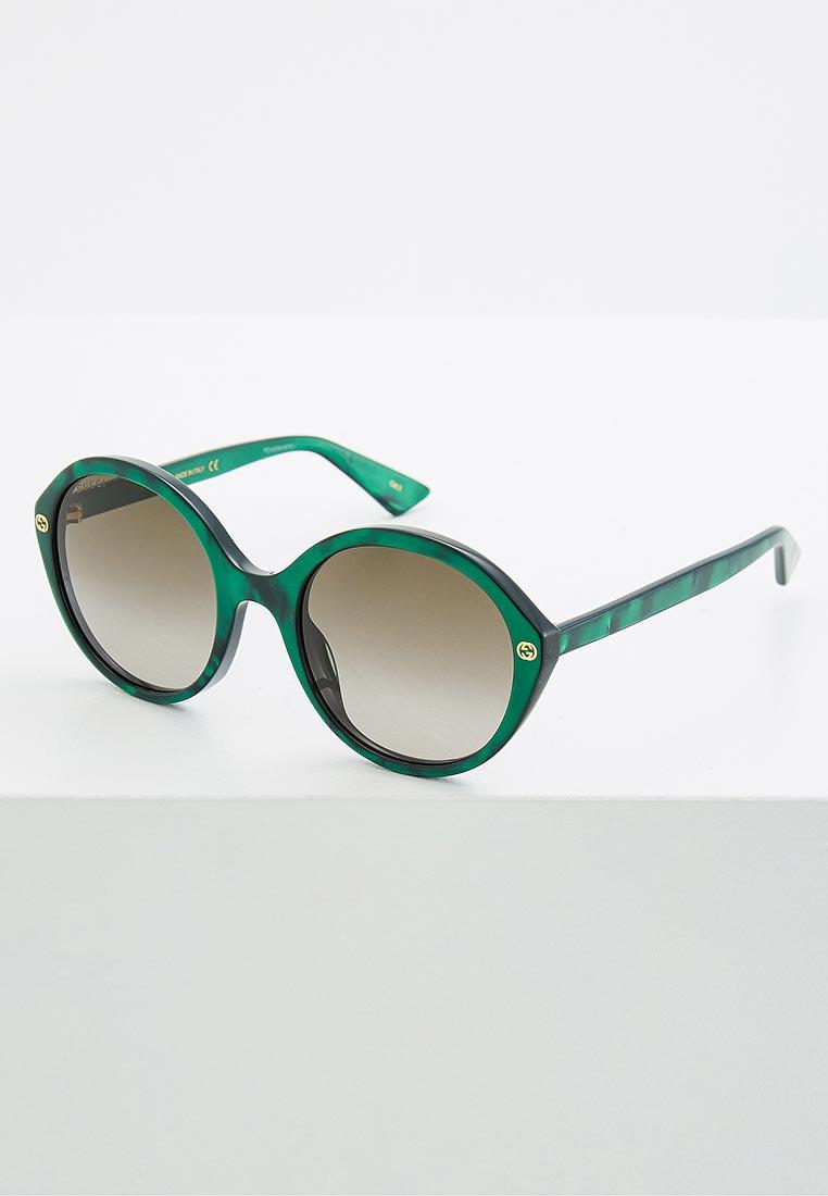 Женские солнцезащитные очки Gucci (Гуччи) GG0023S