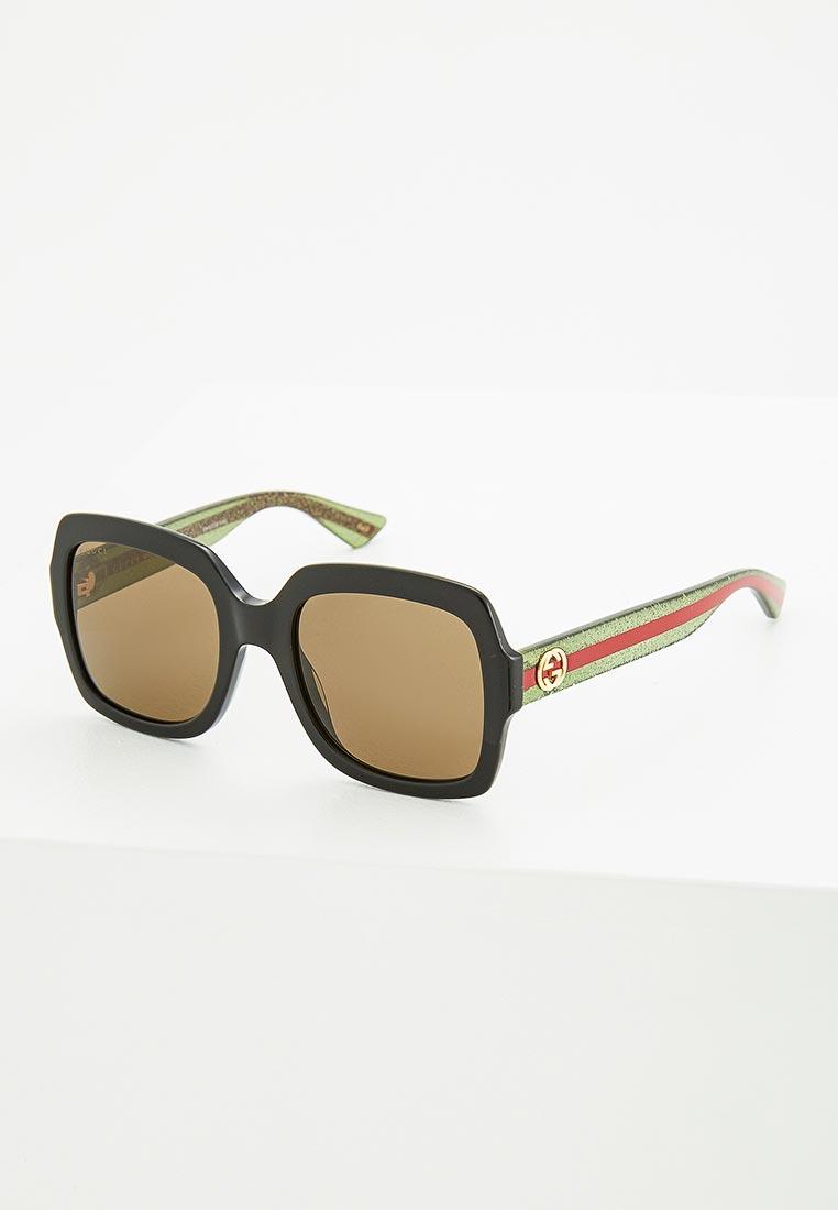 Женские солнцезащитные очки Gucci (Гуччи) GG0036S