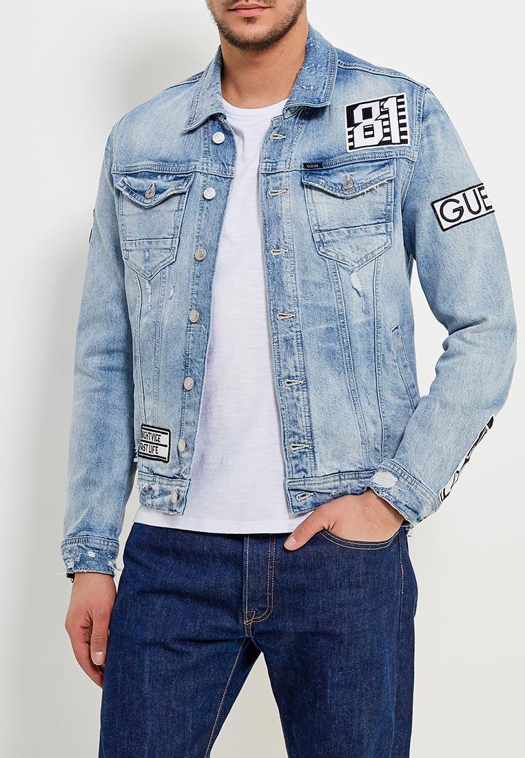 Джинсовая куртка Guess Jeans M82N14 D3222