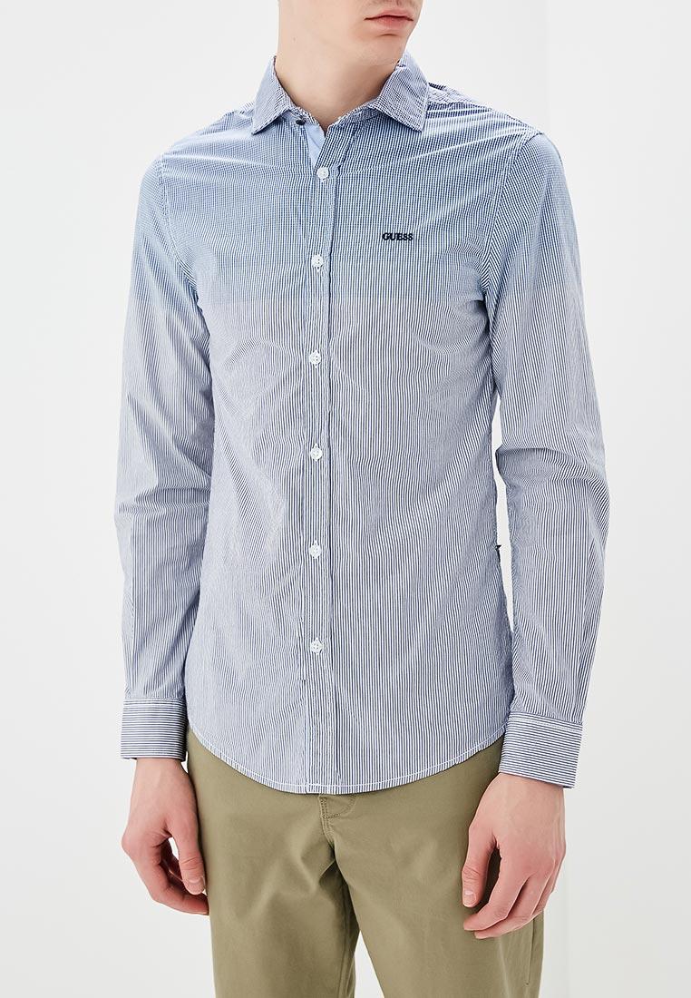 Рубашка с длинным рукавом Guess Jeans M82H13 W9WD0