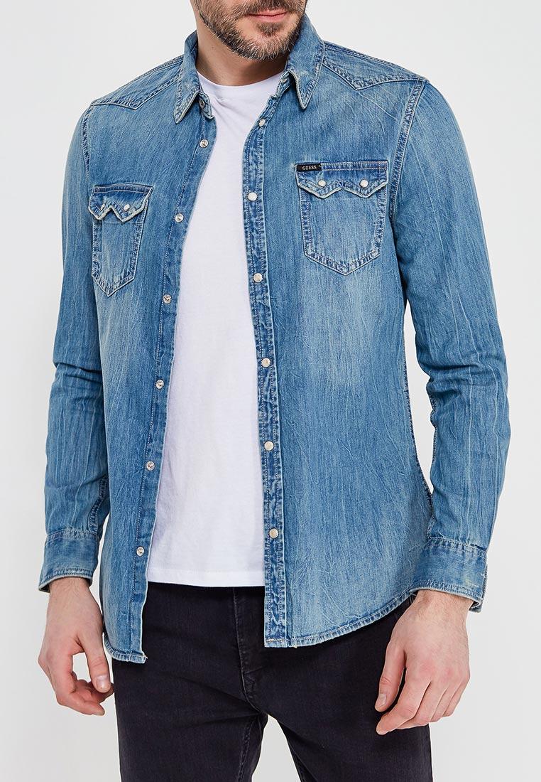 Рубашка Guess Jeans M82H01 D14LW