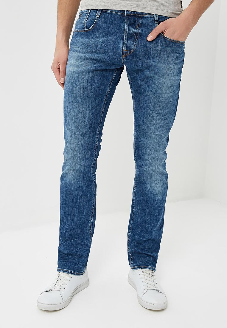 Мужские прямые джинсы Guess Jeans M82AS3 D1EQA