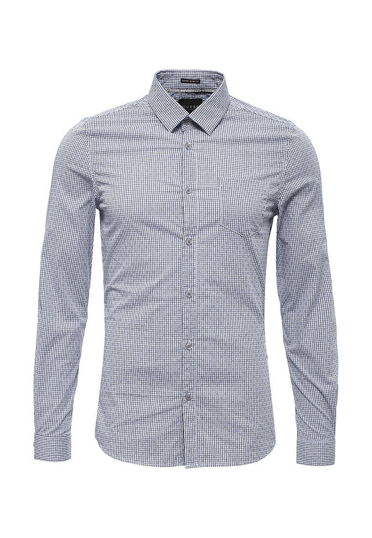 Рубашка с длинным рукавом Guess Jeans M73H21 W7W60