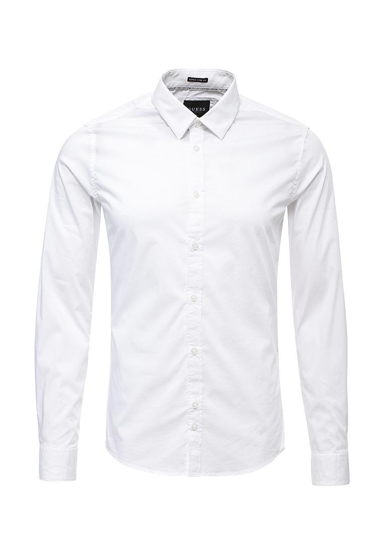 Рубашка с длинным рукавом Guess Jeans M73H15 W7ZK0