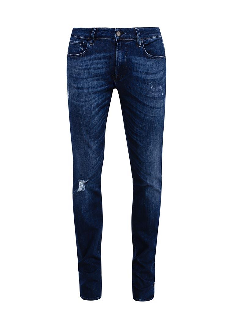 Мужские прямые джинсы Guess Jeans M73AN2 D2N61