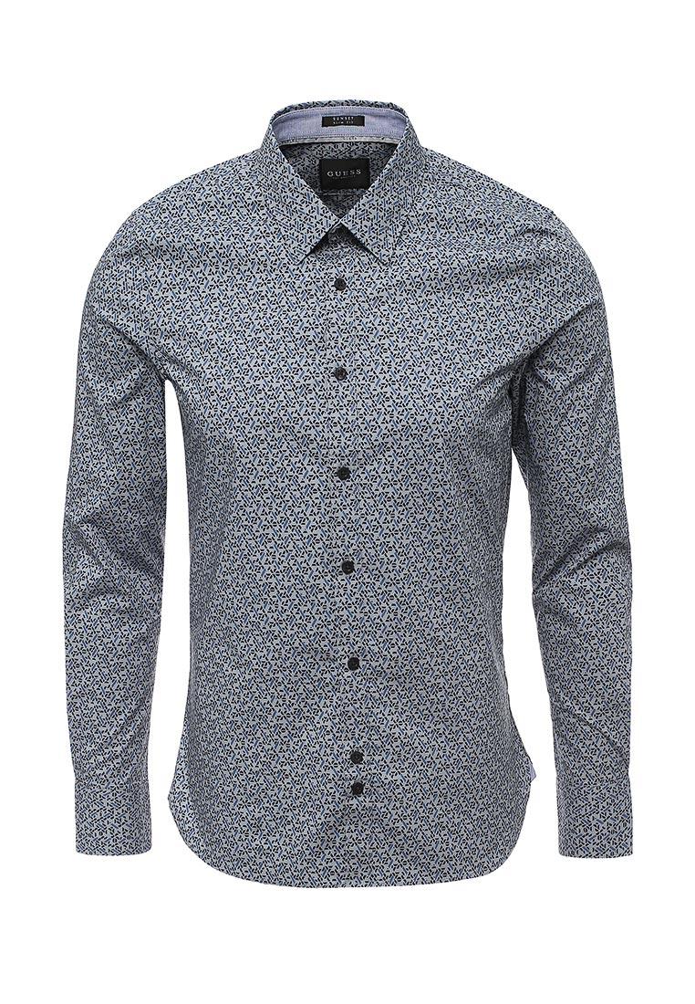 Рубашка с длинным рукавом Guess Jeans M74H20 W7VX0
