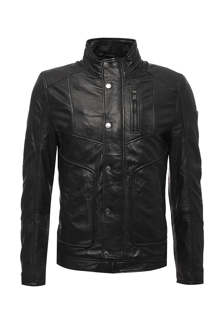 Кожаная куртка Guess Jeans m73l48 L0IL0