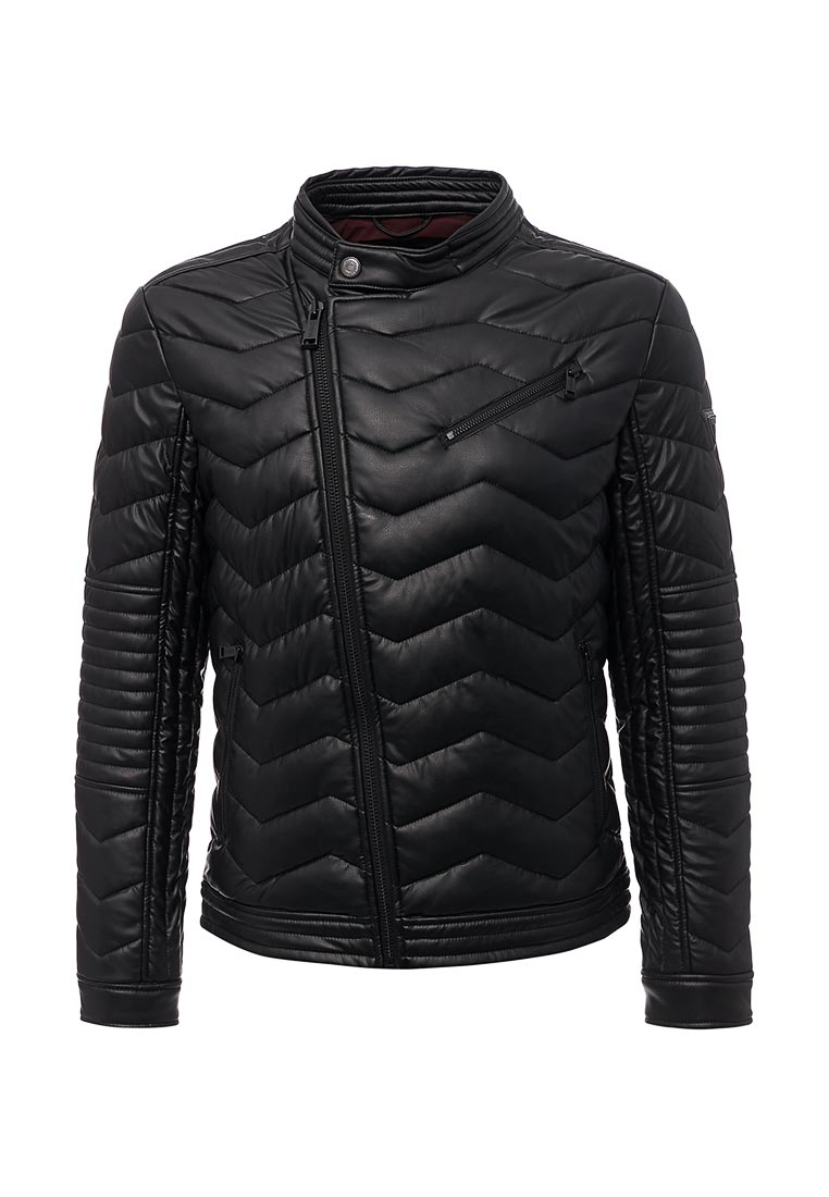 Кожаная куртка Guess Jeans M74L43 W7IW0