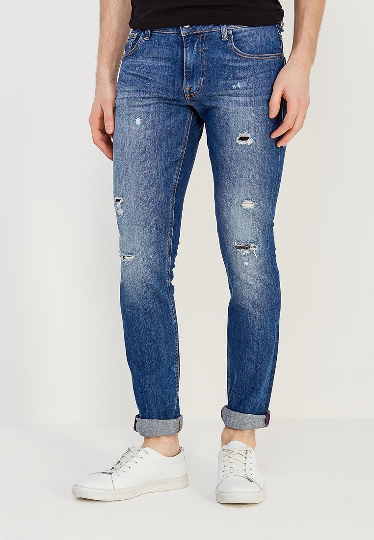 Зауженные джинсы Guess Jeans m81an1 D14GM