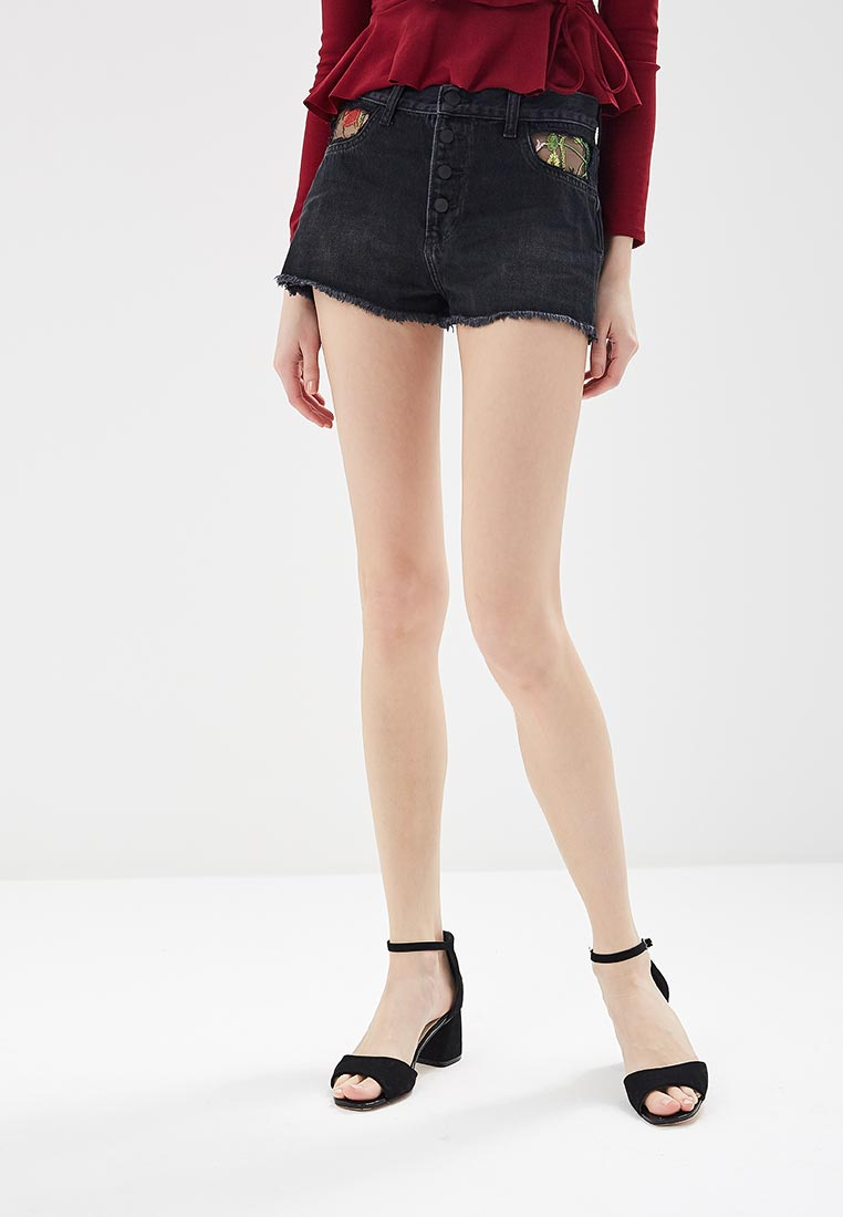 Женские джинсовые шорты Guess Jeans W82D46 D3500
