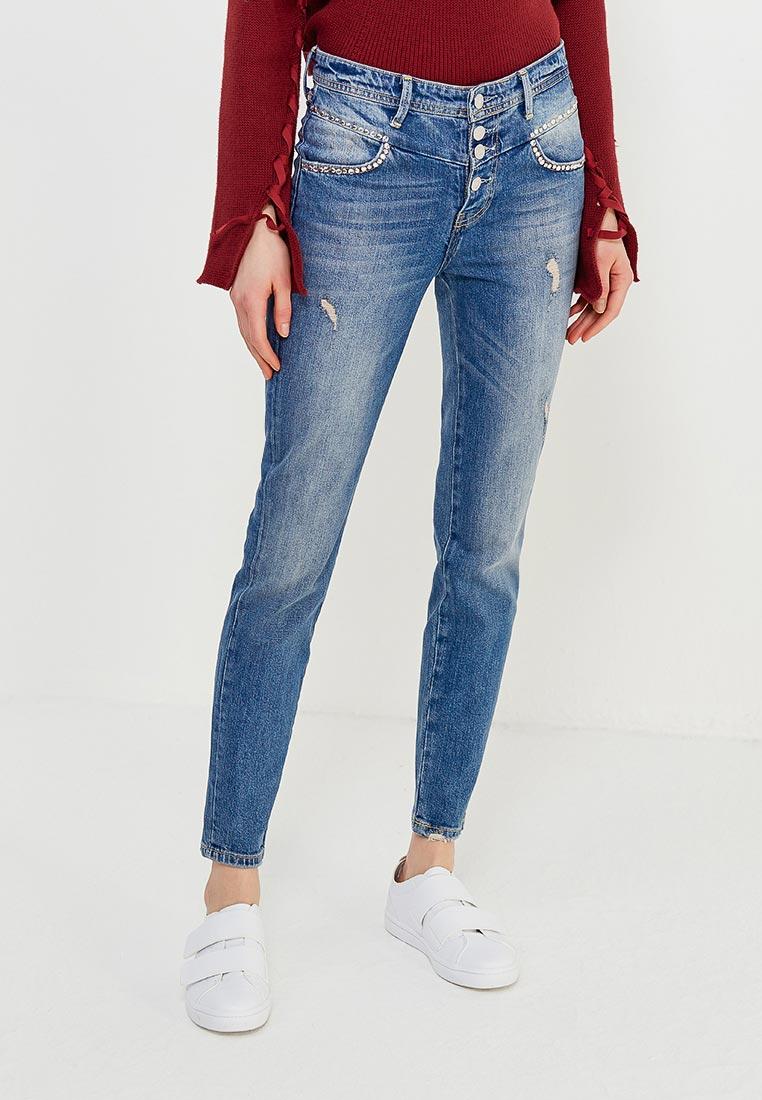Зауженные джинсы Guess Jeans W82A02 D3221