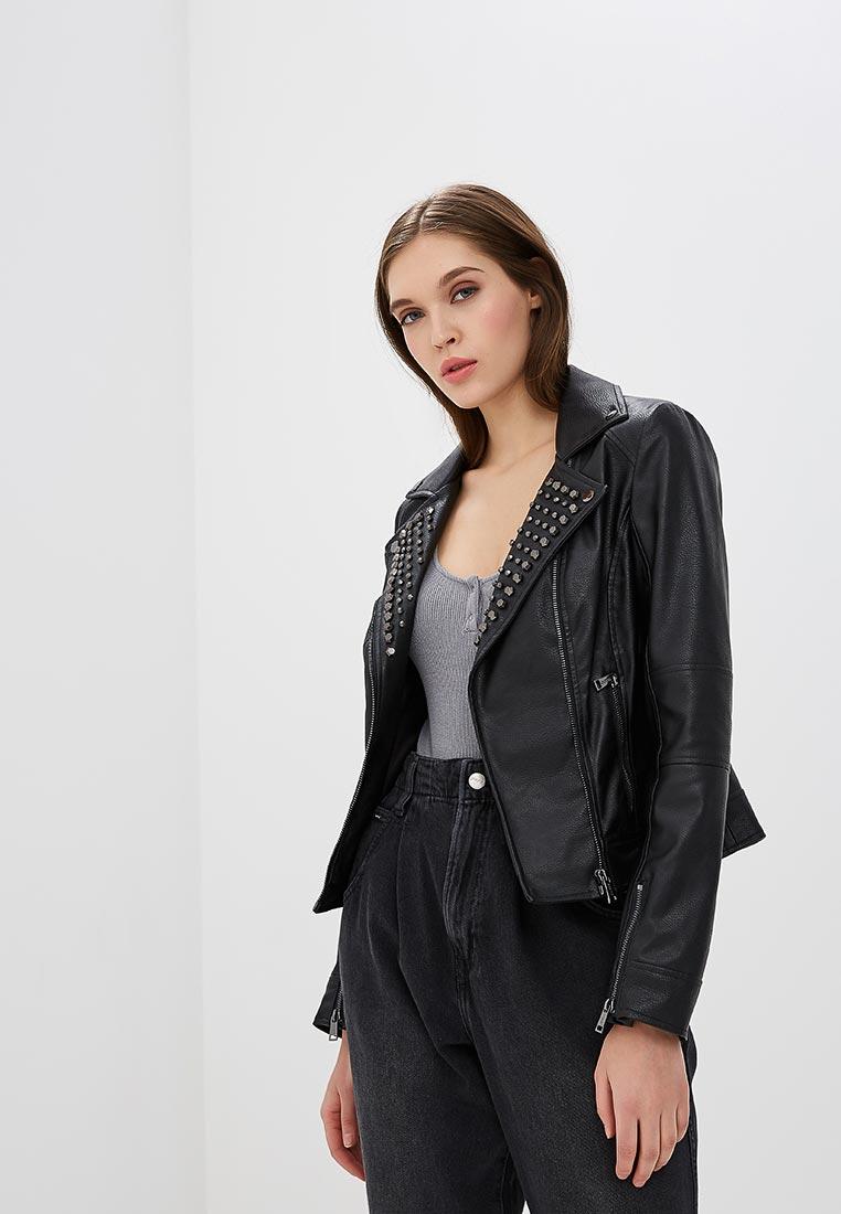 Кожаная куртка Guess Jeans W82L09 W9VN0