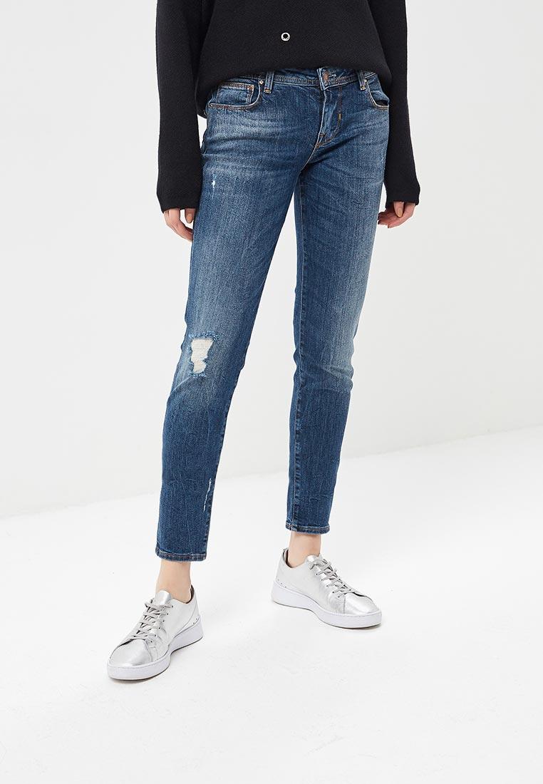 Зауженные джинсы Guess Jeans W81A31 D2ZI0