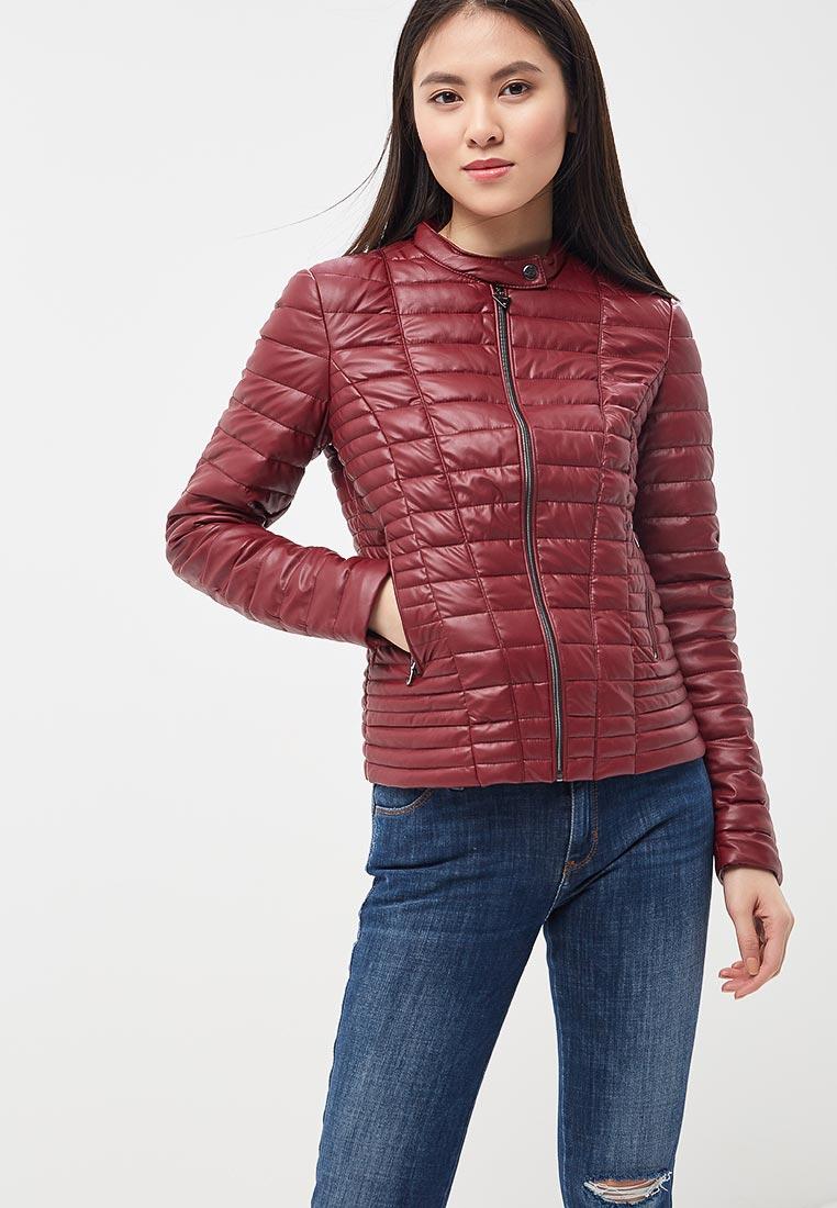 Кожаная куртка Guess Jeans W81L00 W7IW0