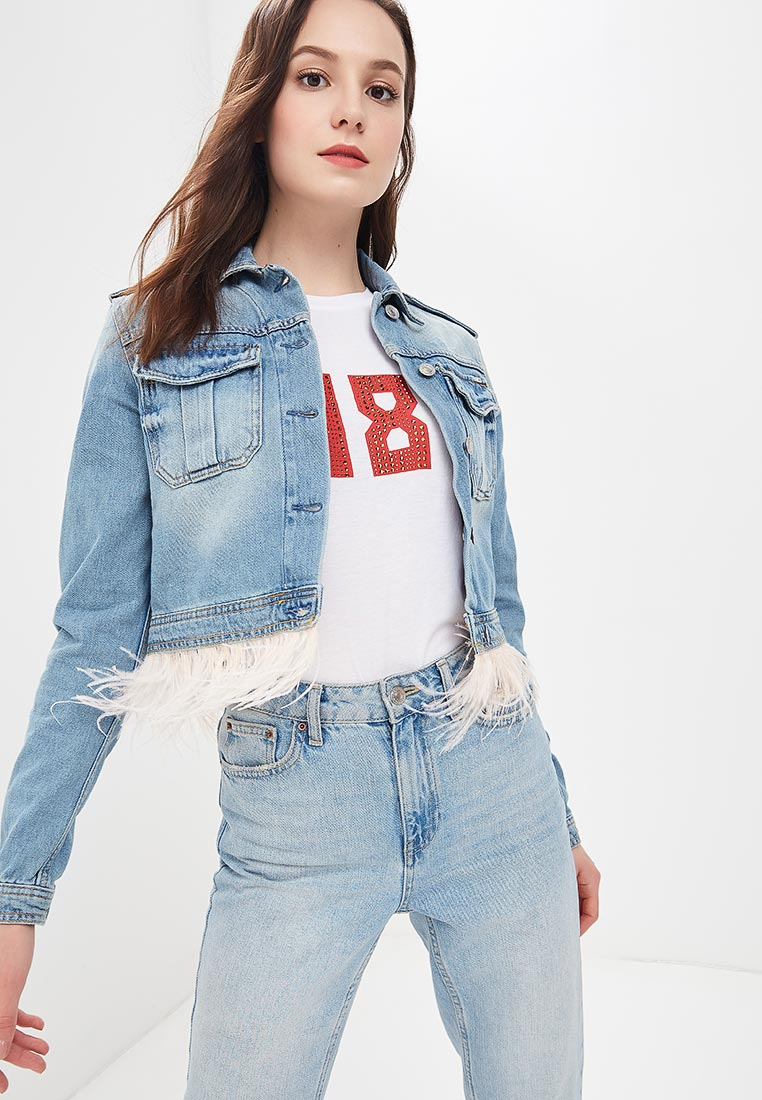 Джинсовая куртка Guess Jeans W82N55 D2NG1