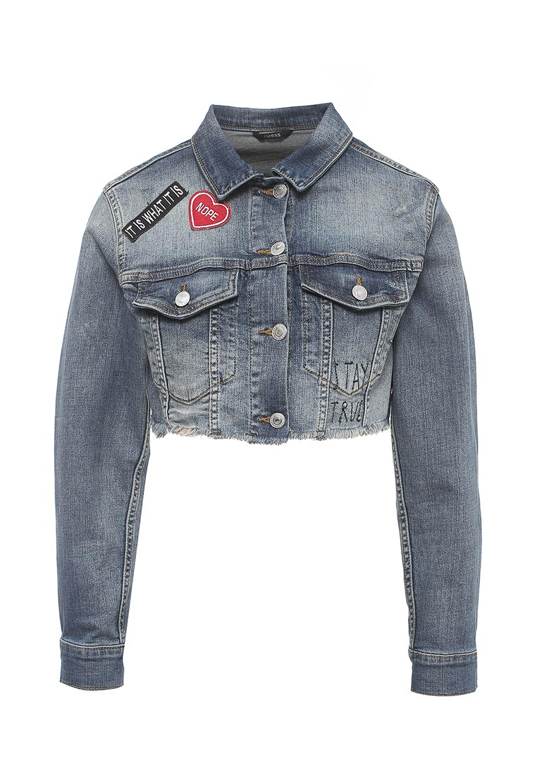 Джинсовая куртка Guess Jeans w72n47 d2gk0