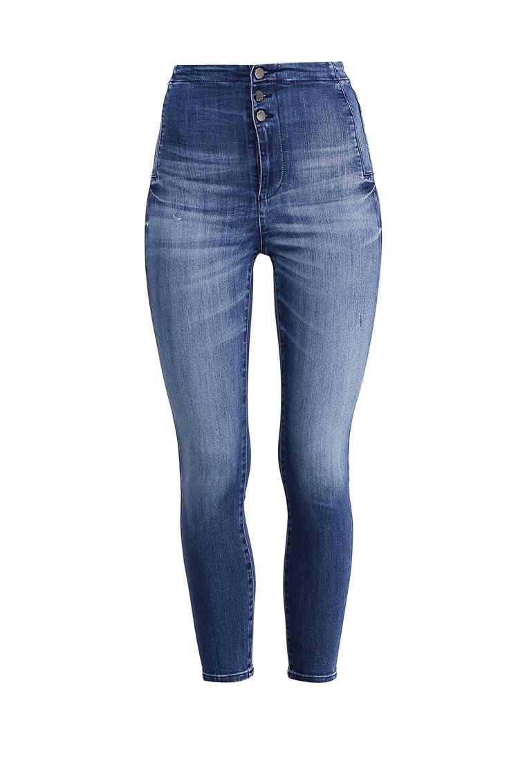 Зауженные джинсы Guess Jeans w72a56 d2g40