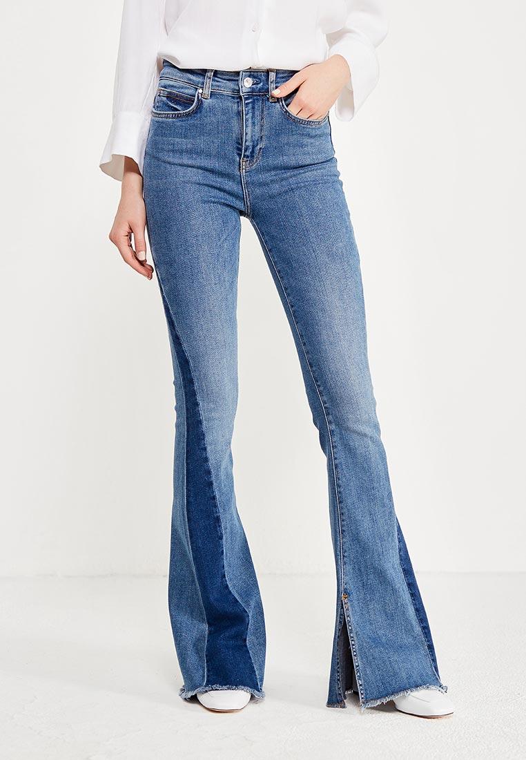 Широкие и расклешенные джинсы Guess Jeans W73A61 D2NF0