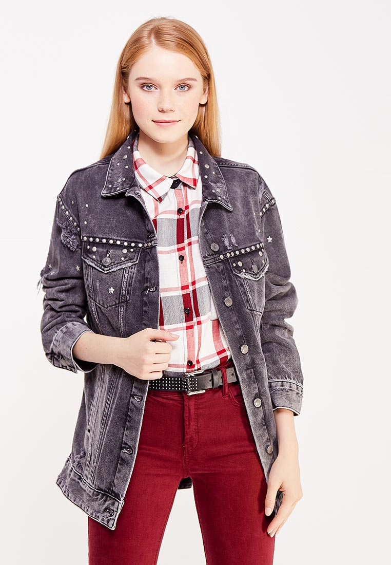 Джинсовая куртка Guess Jeans w74n05 D2QW0