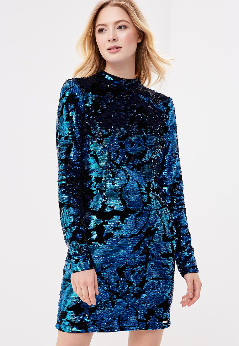 Платье Guess Jeans w81k08 w9m20